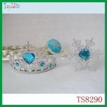 Cheap Birthday Gifts Frozen Elsa Tiara with Wand