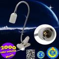 yeni tasarım led masa lambası E27 220v 50cm esnek mini okuma led klibi lamba