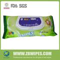 la vitamina e y aloe no tejida del spunlace limpieza de niños las toallitas húmedas toallas