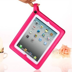 2014 Hot selling for iPad 3D Cartoon Q EVA Case For iPad 2 3 4