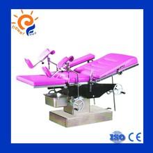 Manual hydraulic gynecological operating table flower medical