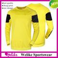 14/15 kulüp futbol forma kazak kaliteli uzun kollu dortmund sarı kazak formaları ucuz futbol kazak gömlek satış