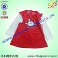 nuevo modelo de venta al por mayor baratos invierno bebé regalo de cumpleaños para el vestido de niña