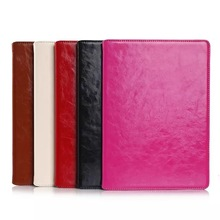 Crazy Horse skin flip PU leather case for ipad air 2 New arrival case for ipad 6