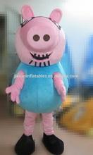 Peppa pig traje de la mascota / adulto del cerdo del peppa del traje