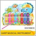 Caixa bonito sea horse mini toy harpa instrumento musical OC0189916