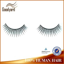 hot sale full hand made colorful professional l curl eyelash extension
