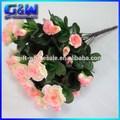رؤساء الزهور الاصطناعية المزخرفة 12 بوش الأزالية لجدول ترتيب الزهور-- الوردي