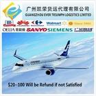 Cheap Air Freight from Guangzhou/Shenzhen China to Tunisia