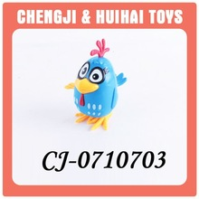 cheap plastic wind up chicken toy for children