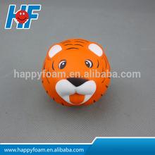 anti stress tiger head ,tiger head stress ball