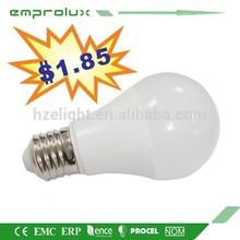 Modern 2014 A60 effective EMC LVD certification globe bulb