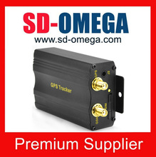 GSM GPRS Mini GPS Tracker for motorcycle/truck/car/vehicle fleet management system