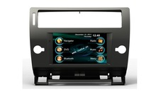 Auto accessories Car DVD GPS Player with radio/dvd/gps/mp3/3g multimedia system for Citroen C4
