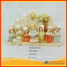 newly brand Resin catholic religous statue nativity set