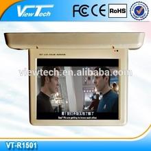 15 inch motorized bus tv monitor 1080p