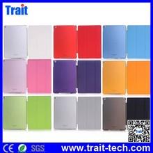 Stylish Smart Wake Sleep Tri-fold Case for for iPad Air 2 Leather Case