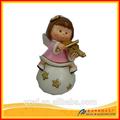 2014 nuevo diseño de Polyresin pequeño ángeles decorativos