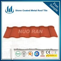 Nuoran Nigeria SONCAP for stone coated metal roofing tile