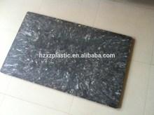 Plastic boards for brick block making machine
