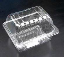 cherry transparent plastic container