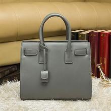 Fashion designer handbag women's tote bag real leather hand bag in stock EMG3701