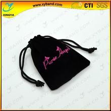 New design cheap custom drawstring packaging pouch