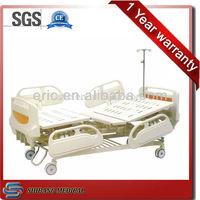 SJ-MM006 Emergency adjustable electric portable hospital bed