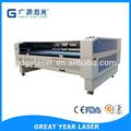 Ropa de moda de la industria de diseño preferible, gy-2012st multi- cabezas máquina de grabado láser para el paño accesorio, china láser