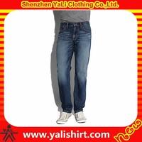 Wholesale top quality five pockets cotton denim bulk cheap name brand jeans for men