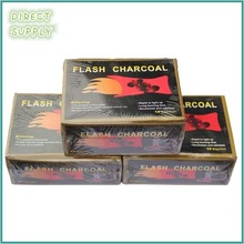 arabia bamboo high quality round smokeless hookah charcoal