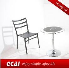 Cheap outdoor leisure coffer chair feet plastic