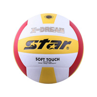 Star VB4025-34,size5,Synthetic leather,indoor/outdoor,made by hand, volleyball,