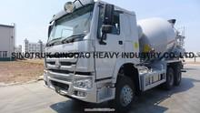 China16 cubic white mixer truck