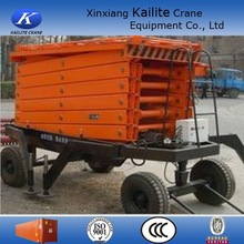 Professional travelling motorcycle scissor lift