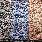 stretch silk satin print fabric for dress