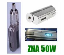 2014 China supplier electronic cigarette zna 50 mod mechanical zna50 1:1 clone zna 50w mod battery factory price in stock
