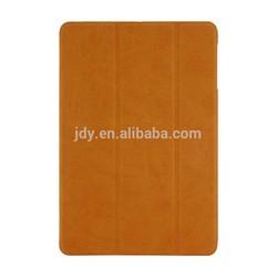 High-end Buckskin paste customized flip case for ipad air 2