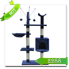 cheap cat tree house outdoor and indoor wooden cat house