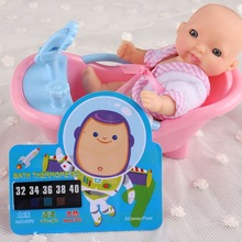 Baby Care Waterproof Card Color Change Baby Bath Thermometer