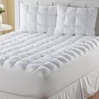 Magic Loft Polyester Mattress Pad, White / Cream, King