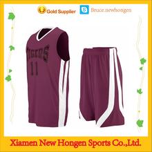 High Quality Basketball Jersey Wholesale/Custom Basketball Wear For OEM