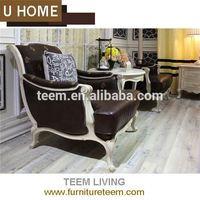 2014 U HOME franch style fabric leather sofa (H136) design furniture pattaya thailand
