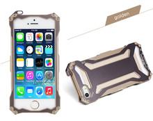2014 new promotion aluminum alloy material slim design hybrid aluminum phone case
