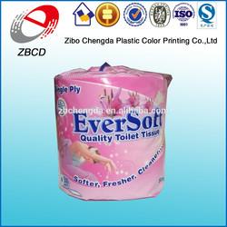 Wholesale custom design tissue paper packing plastic bags