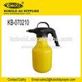 Pompa a mano serbatoio di acqua plastica giardino spruzzatore di pressione kb-070210