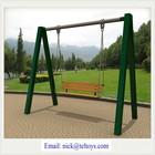 garden metal swing set,outdoor garden cast iron gazebo swing TEL0266