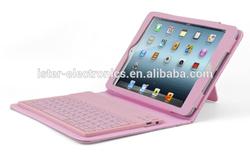 High quality Wireless silicone bluetooth keyboard lifeproof for ipad mini case