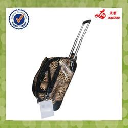 "2014 18"" two wheels fashionable trolley duffle bag"