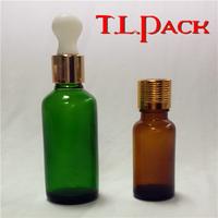5ml, 10ml, 15ml, 20ml, 30ml, 50ml, 60ml,100ml, 120ml glass dropper bottle, green glass bottle, essential oil bottle